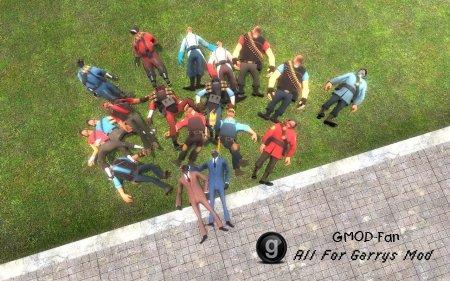 Team Fortress 2 Ragdolls