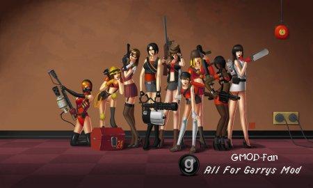 TF2 Girls Background 2