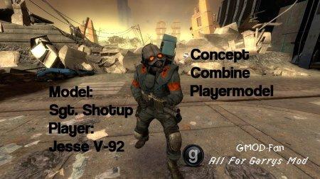 Concept Combine PlayerModel