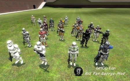 Clonetrooper npc pack