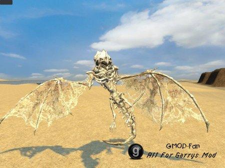 Bone and crystal Dragon Snpcs