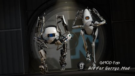 Portal 2 bots BG with song