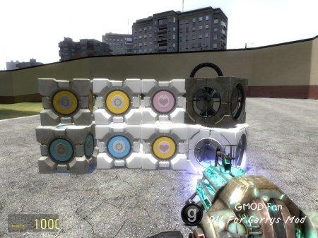 Portal 2 Cubes