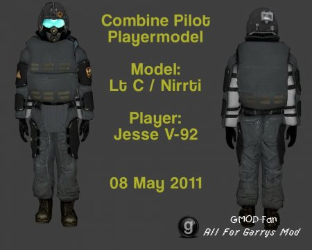 Combine Pilot Playermodel