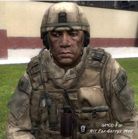 Crysis 2 Marine Npc's