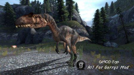Allosaurus NPC/Ragdoll