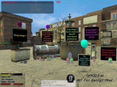 Darkrp custom gamemode content