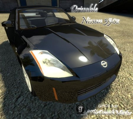 Drivable Nissan 350z by TheDanishMaster