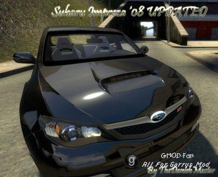 Subaru Impreza WRX STI 08 by TheDanishMaster