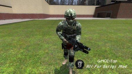 Sentrywatchs Kuma commando NPC