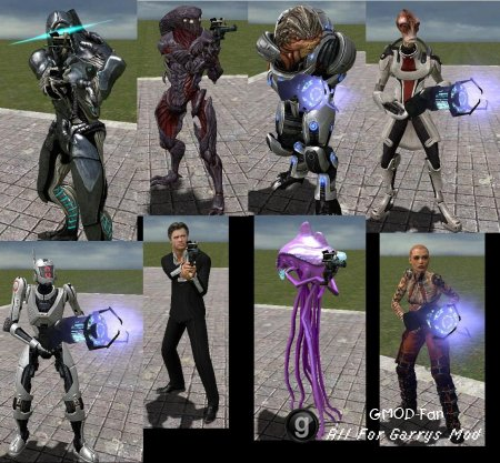 Mass Effect 2 Players & NPCs