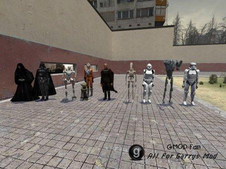 Star wars ragdolls