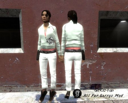 L4D white Zoey hexed