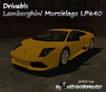 Drivable Lamborghini Murcielago by TheDanishMaster