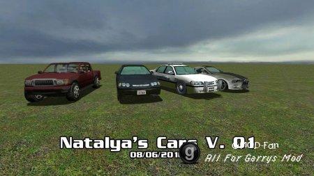 Natalya's Car Pack V. 01