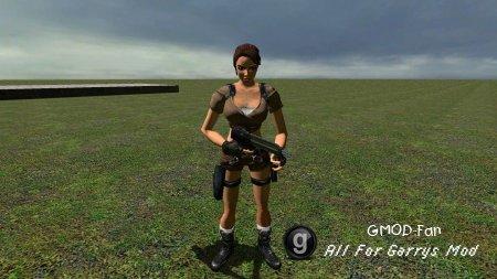 Lara Croft Npc