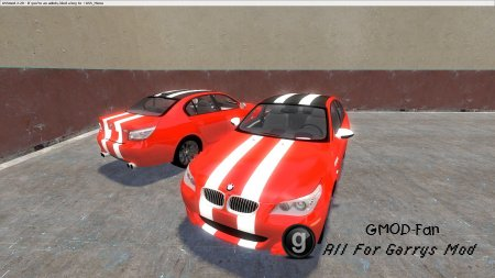 Bmw skin5 white stripes