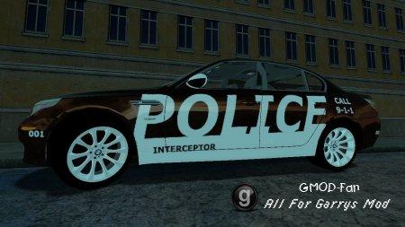 BMW M5 E60 Police Interceptor