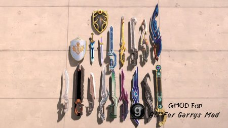 Tales of Symphonia weapons