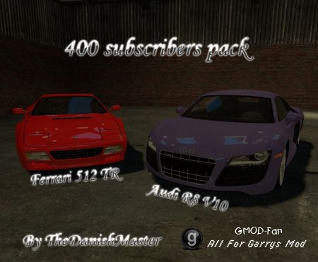 400 sub pack by TDM