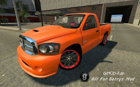 Drivable Dodge RAM SRT10 by TheDanishMaster