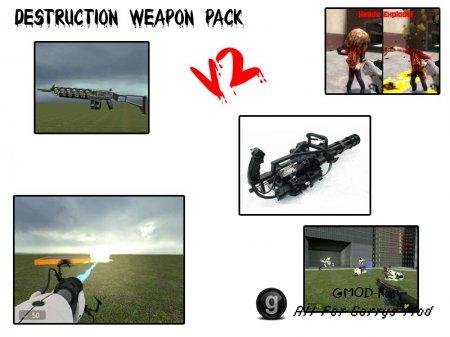 Destruction Weapon Pack v2