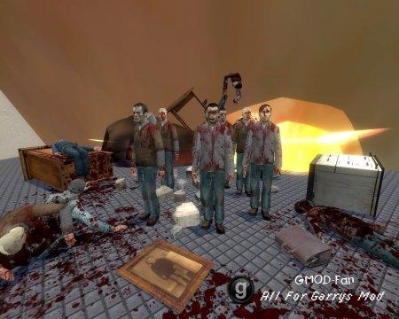 Scary Zombie Snpc's