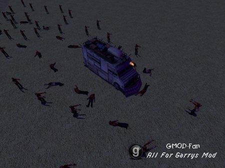 Ragecrab's Running zombie snpc