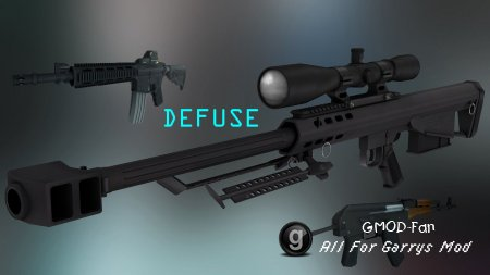 The Defuse SWEP Pack