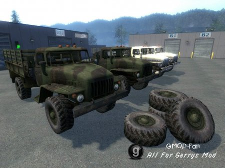 URAL 43206 (Driveable, ARMA2)