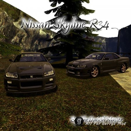 Drivable Nissan Skyline R34 by TheDanishMaster