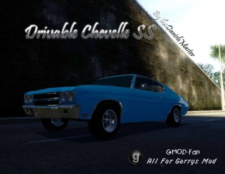 Drivable Chevelle SS by TheDanishMaster