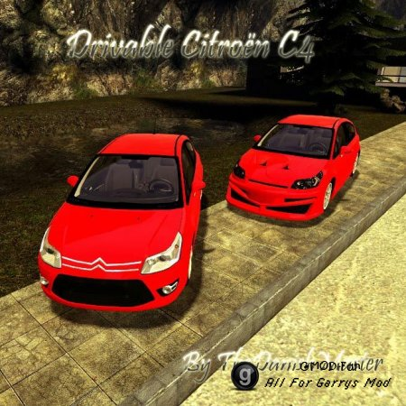 Drivable Citroen C4 by TheDanishMaster