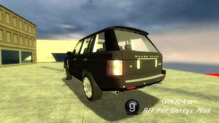 Drivable Land Rover Range Rover 08 by TheDanishMaster