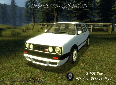 [FIXED]Drivable VW Golf MKII by TheDanishMaster