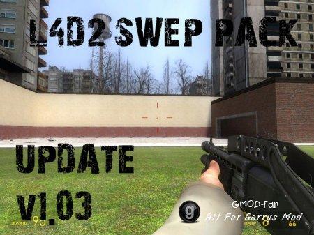 L4D2 Swep pack Update v1.03