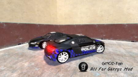 Audi R8 Police skin