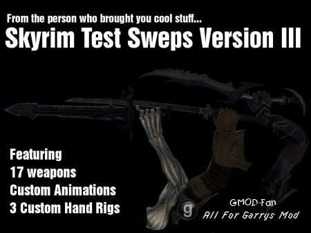 Skyrim Test Sweps Version Tres
