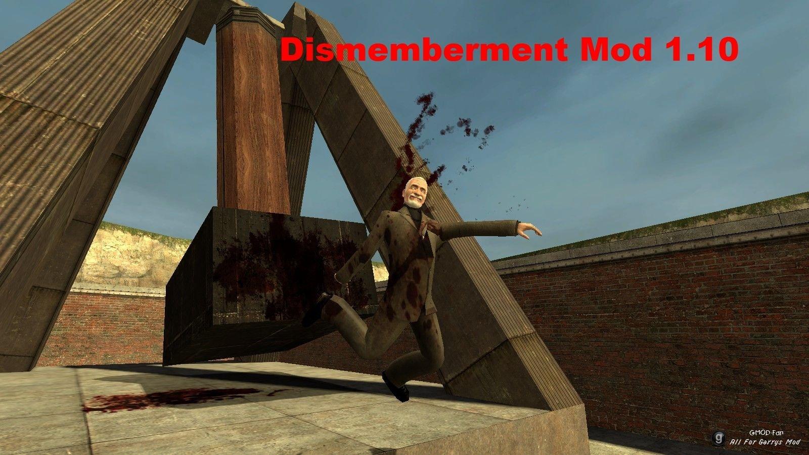 Скачать мод dismemberment mod для гаррис мод