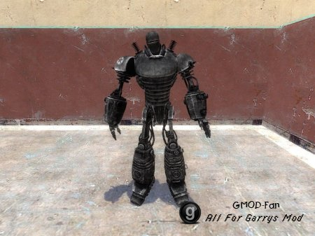 Liberty Prime Playermodel and NPC