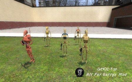 Battle droid npc pack