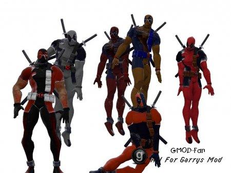 Deadpool MVC3 skins