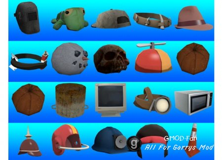 Hats Pack w/ SpawnIcons