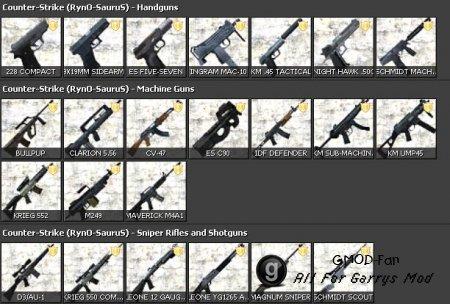 RynO's CSS Weapon Pack