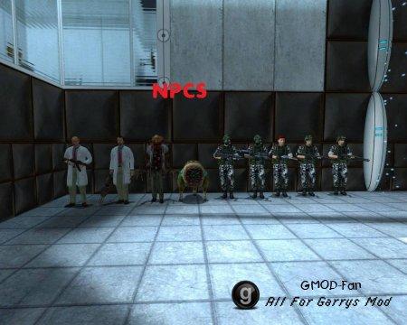 Black Mesa NPC's