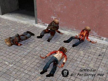 Sleep Zombie NPC