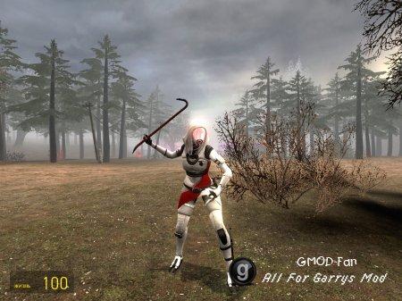Tali Combine (Player Model)
