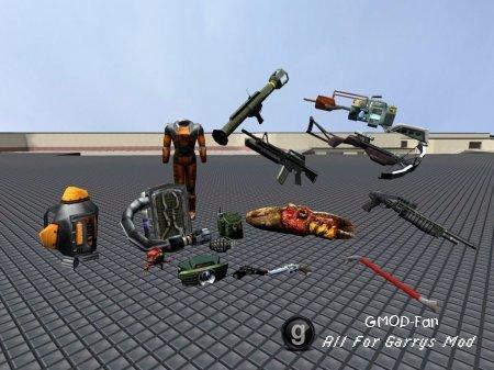Half-Life Soucre HD Models
