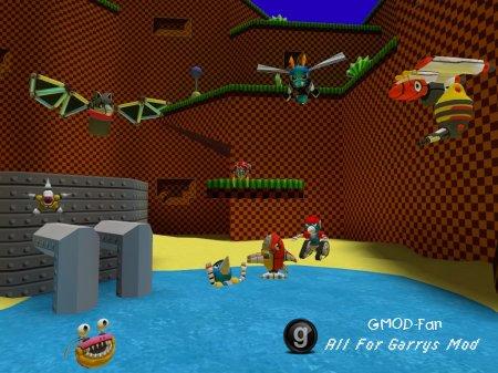 Sonic 4 classic badniks