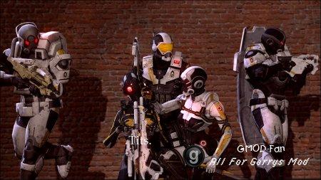 Mass Effect 3 - Cerberus Dudes